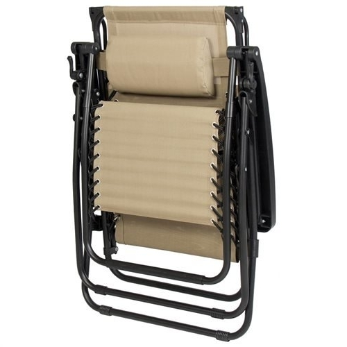 Bestchoiceproducts: Folding Zero Gravity Recliner Lounge Chair With Regarding Well Liked Wicker Rocking Chair With Magazine Holder (View 5 of 20)