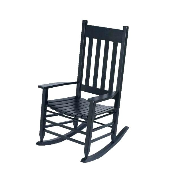 Black Patio Rocking Chair Related Post Cheap Black Outdoor Rocking Throughout 2017 Black Patio Rocking Chairs (View 3 of 20)