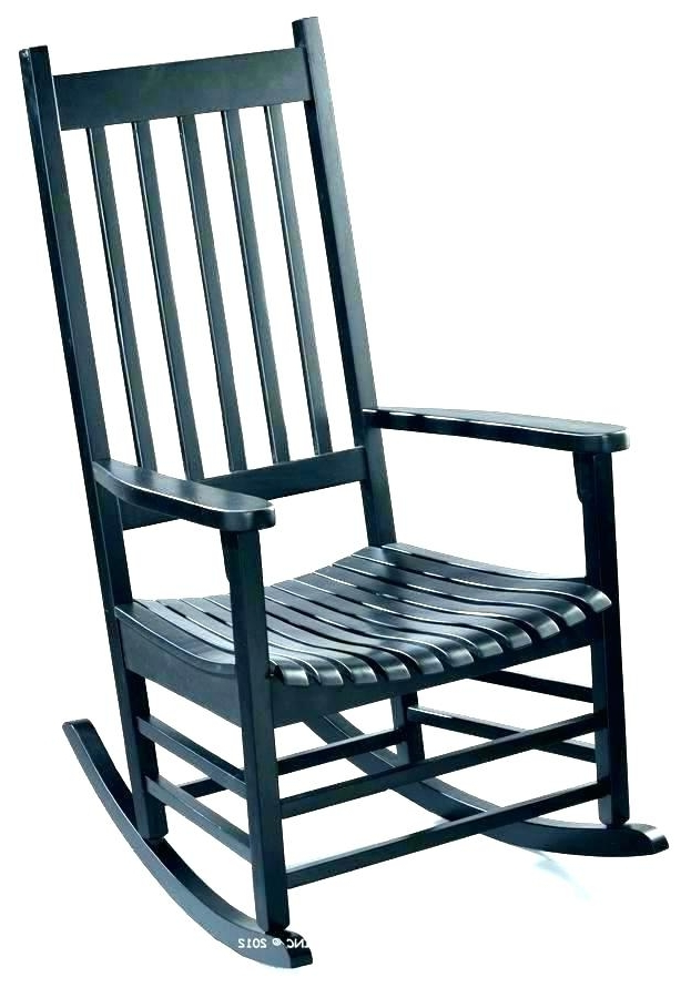 Black Patio Rocking Chairs Regarding Latest Cheap Rocking Chairs For Porch Rocking Chair Pottery Barn Black (View 15 of 20)
