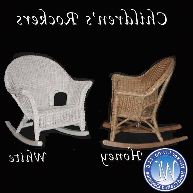 Children's Furniture Inside White Wicker Rocking Chairs (View 5 of 20)