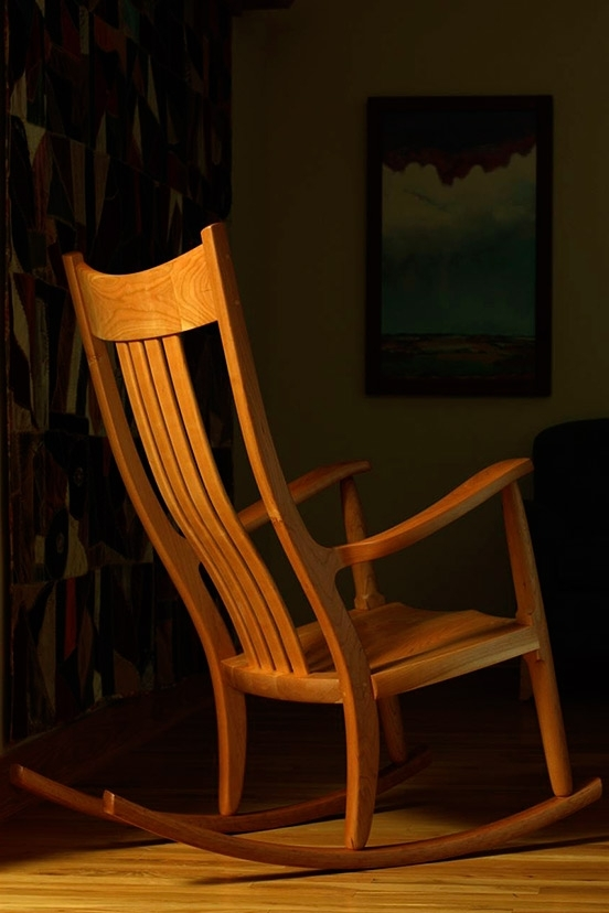 Comfortable Rocking Chairsgary Weeks Intended For Best And Newest Rocking Chairs With Lumbar Support (View 5 of 20)