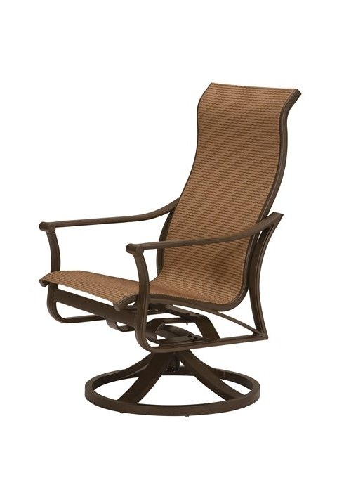 Corsica Sling Swivel Rocker High Back – Hauser's Patio Inside Well Known Patio Sling Rocking Chairs (View 3 of 20)