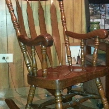 Current Antique And Vintage Rocking Chairs (View 3 of 20)