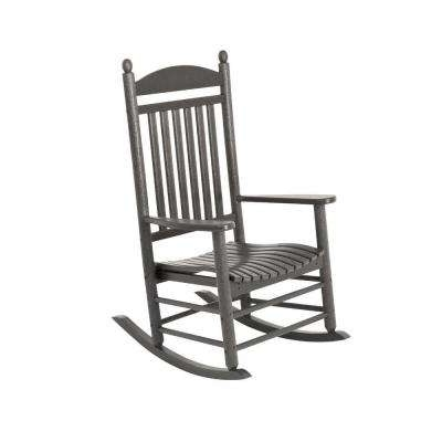 Featured Photo of Manhattan Patio Grey Rocking Chairs