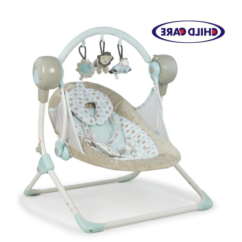 Current Rocking Chairs For Babies With Genuine Electric Rocking Chair Baby Cradle Swing Baby Appease Chair (View 5 of 20)