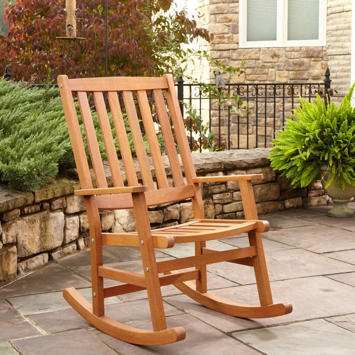Decorating Best Quality Outdoor Rocking Chairs Outdoor Patio Metal Intended For Best And Newest Patio Wooden Rocking Chairs (View 1 of 20)