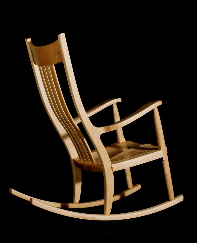 Designing A Rocking Chair With Regard To Trendy Rocking Chairs With Lumbar Support (Gallery 1 of 20)