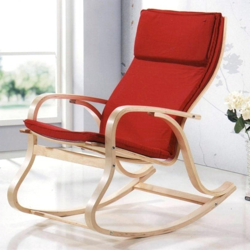 Double Glider Chair High Back Glider Velvet Rocking Chair Double Pertaining To Fashionable Modern Patio Rocking Chairs (Gallery 17 of 20)