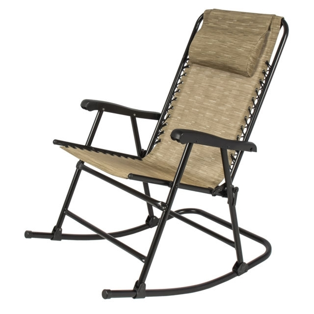 Ebay In Most Up To Date Folding Rocking Chairs (View 3 of 20)