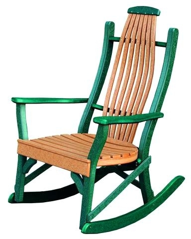Exterior Rocking Chairs Outdoor Rocking Chair Lowes Outdoor Wood Throughout Fashionable Lowes Rocking Chairs (View 4 of 20)