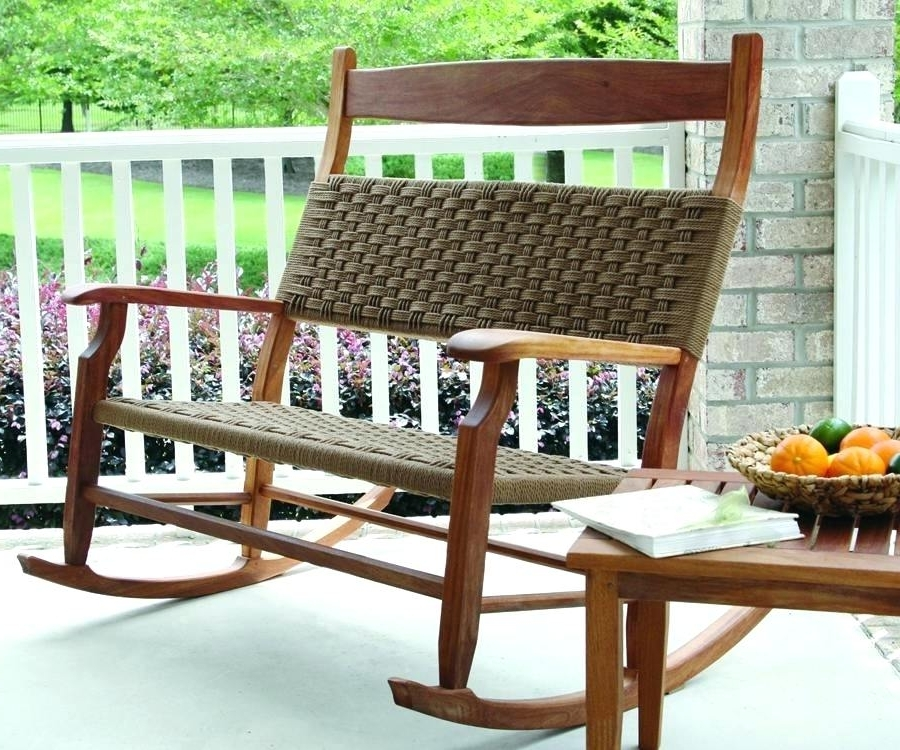 Famous Marvelous Patio Rocking Chair Set Photo Ideas – Chamisa (View 17 of 20)