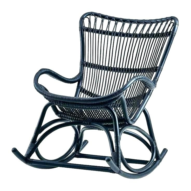 Famous Resin Wicker Rocking Chair Resin Wicker Outdoor Rocking Chairs Regarding Outdoor Wicker Rocking Chairs (View 1 of 20)