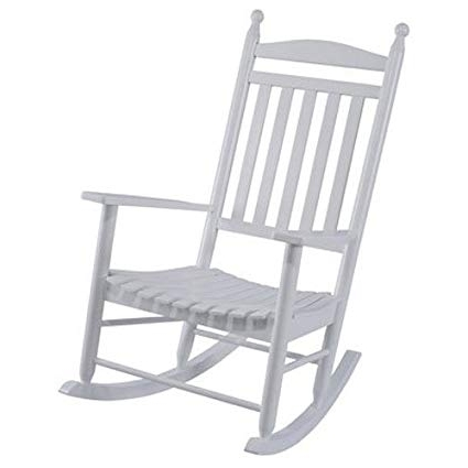 Famous Wooden Patio Rocking Chairs Throughout Amazon : Jack Post Kn 22W Je Knollwood Classic Wood Rocking (View 6 of 20)