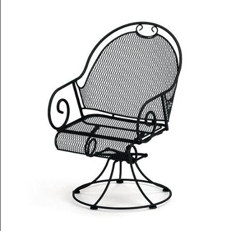 Famous Wrought Iron Patio Rocking Chairs For Cr4 – Thread: Can Outdoor Wrought Iron Rocking Chairs Be Repaired? (View 3 of 20)