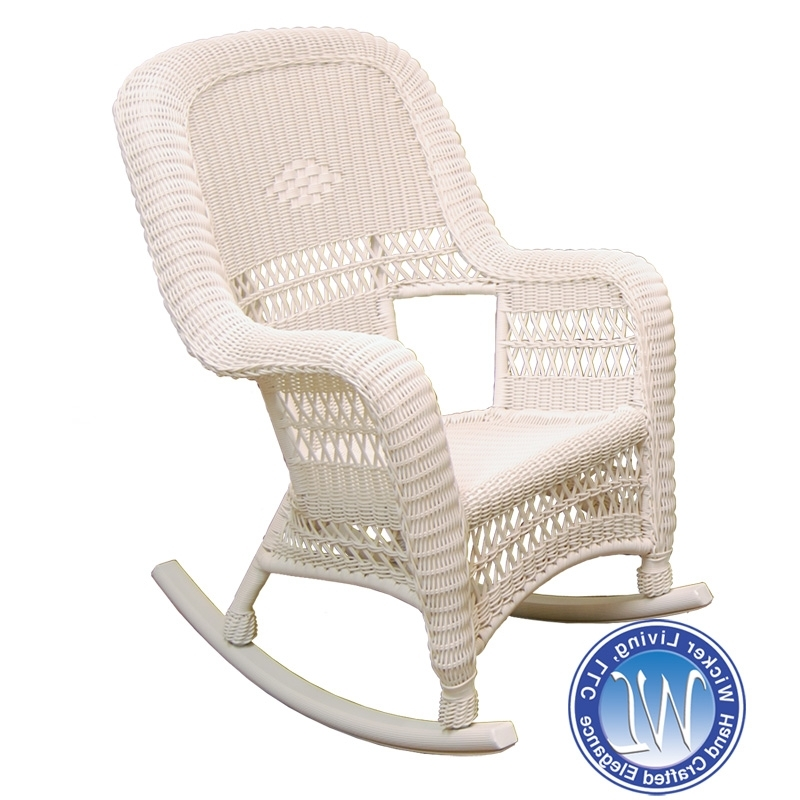 Fashionable Resin Wicker Rocking Chair (View 5 of 20)