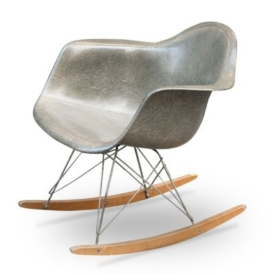 Fashionable Retro Rocking Chairs Pertaining To Vintage Rocking Chaircharles & Ray Eames For Herman Miller (View 6 of 20)