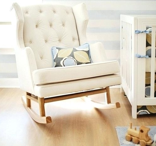 Fashionable Rocking Chair Baby Room Rocking Chair Cushions Baby Room – Powerwomen Inside Rocking Chairs For Baby Room (View 14 of 20)