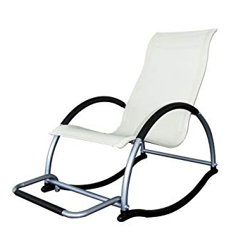 Fashionable Rocking Chairs With Footrest Within Trueshopping Ledro Rocking Chair With Footrest Light 4.5Kg (View 6 of 20)