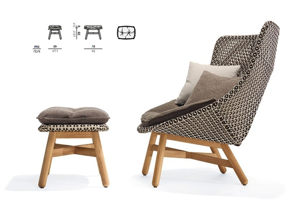 Fashionable Rocking Chairs With Footstool In Patio & Things (View 5 of 20)