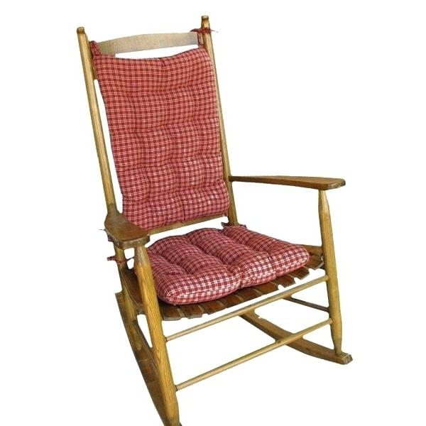 Favorite Cheap Rocking Chair Cushions Glider Rocking Chair Replacement Throughout Outdoor Rocking Chairs With Cushions (View 5 of 20)