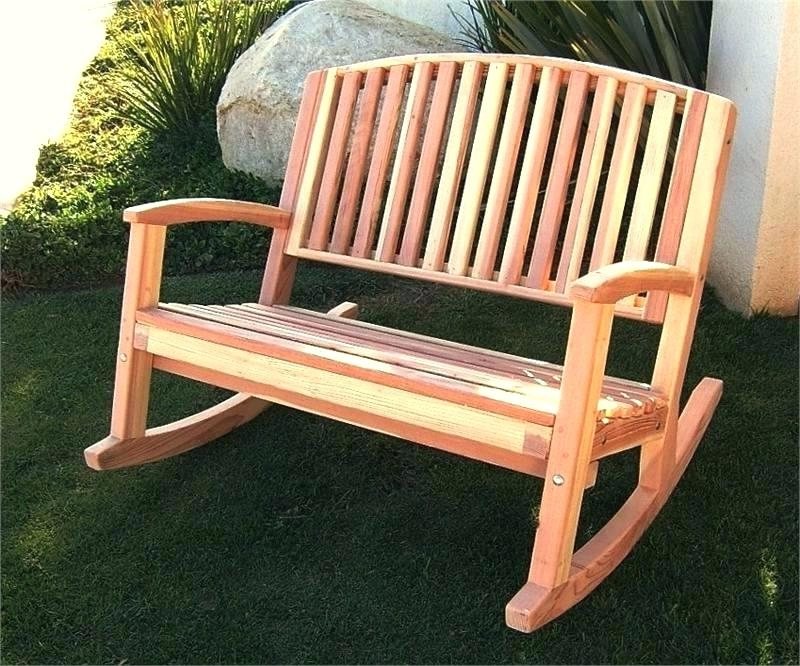 Favorite Outdoor Rocking Bench Gliding Bench Outdoor Rocking Simply Baby Regarding Patio Furniture Rocking Benches (View 5 of 20)