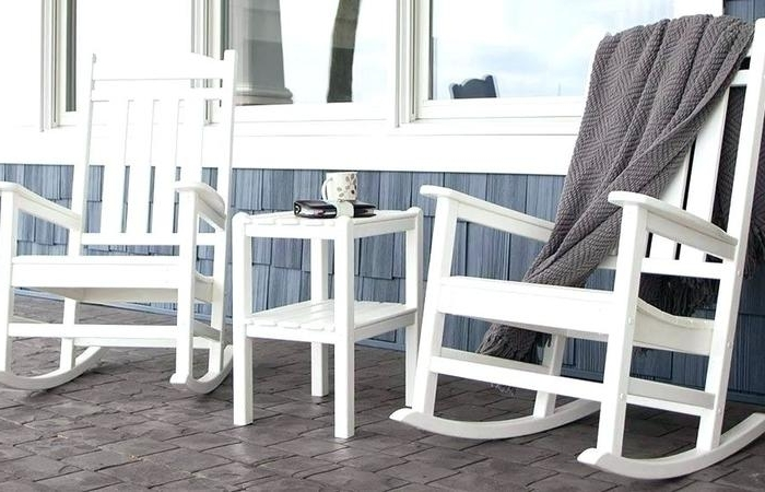 Favorite Outdoor Rocking Chairs With Table Intended For Modern Outdoor Ideas Teak Rocking Chairs Rocker Gaming Chair Swivel (View 7 of 20)