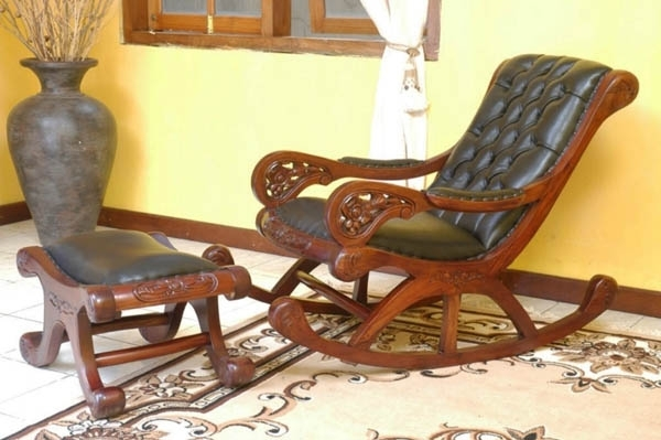 Favorite Rocking Chairs With Footrest Within 22 Ideas For Home Decorating With Rocking Chairs (View 8 of 20)