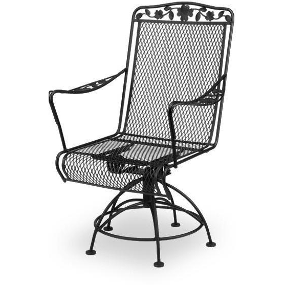 Favorite Wrought Iron Patio Rocking Chairs Within Wrought Iron Rockers Wrought Iron Patio Set With Rocker Chairs (View 5 of 20)