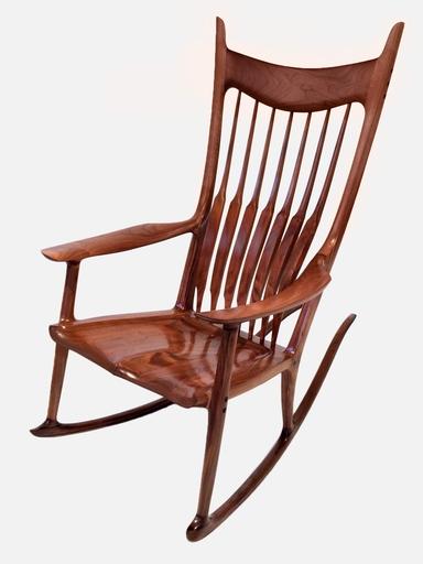 Favorite Xl Rocking Chairs Inside Paddle8: Rocking Chair – Sam Maloof Studio (View 8 of 20)