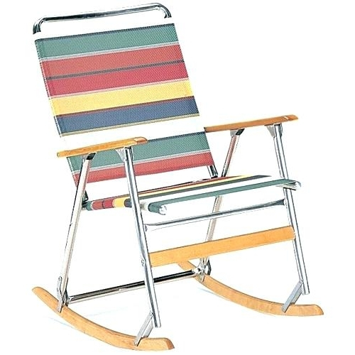 Folding Lawn Chairs Excellent Rocking Chair Design Lawn Chairs For Fashionable Rona Patio Rocking Chairs (View 7 of 20)