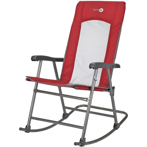 Folding Mesh Rocking Chair In Popular Folding Rocking Chairs (View 7 of 20)