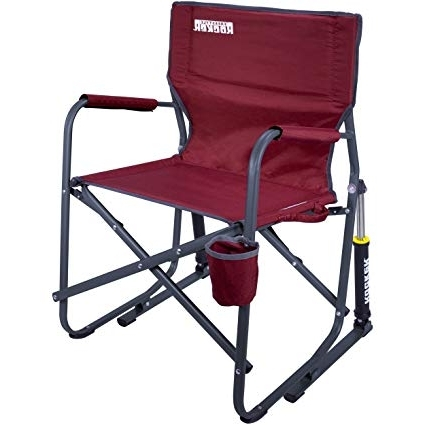 Folding Rocking Chairs Regarding Latest Amazon : Gci Outdoor Freestyle Rocker Portable Folding Rocking (View 10 of 20)