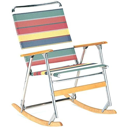 Folding Rocking Chairs Regarding Most Current Outdoor Folding Rocking Chair Best Outdoor Folding Rocking Chair (View 11 of 20)