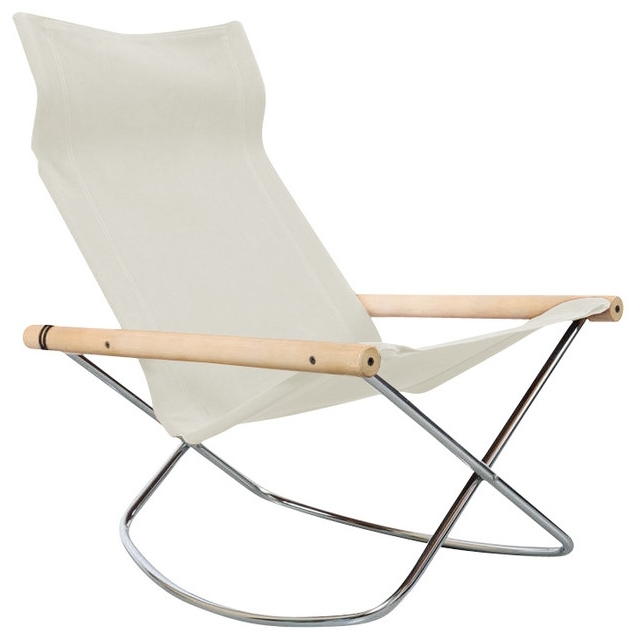Folding Rocking Chairs With Fashionable Ny Rocking Chair – Nest&home (View 12 of 20)
