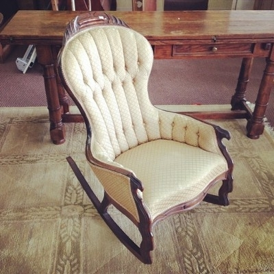 Funky Cool Victorian Rocking Chair From The Late 1800S. Only $ (View 2 of 20)