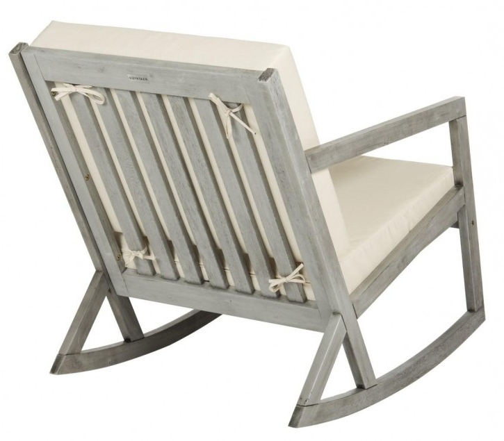 Furniture: Inspiring Outdoor Rocking Chair For Your Porch Or Your Intended For Best And Newest Rocking Chairs At Lowes (View 6 of 20)