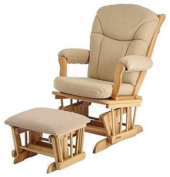 Gliding Rocking Chair With Ottoman Inspirations Home Interior Glider Intended For Current Rocking Chairs With Ottoman (View 5 of 20)