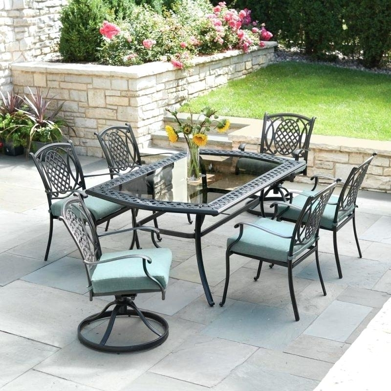 Hampton Bay Belleville Bay Collection Bay Padded Sling 4 Piece Patio In 2018 Hampton Bay Rocking Patio Chairs (View 6 of 20)