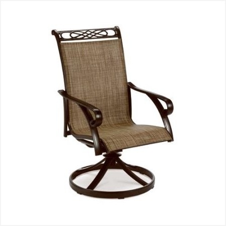 Hampton Bay Patio Furniture Cushions » Comfortable High Back Swivel Throughout 2017 Hampton Bay Rocking Patio Chairs (View 8 of 20)
