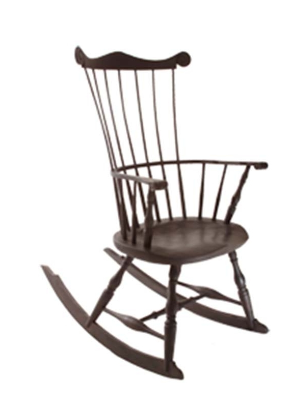 High Back Rocking Chairs For 2017 Windsor Rocking Chairs – High Back Rocker (Gallery 4 of 20)