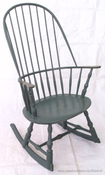 High Back Rocking Chairs Inside Most Popular Windsor Rocking Chair!!! 2 Of These For The Front Porch Would Make (Gallery 13 of 20)