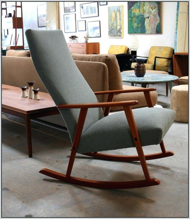 High Back Rocking Chairs Regarding 2018 K0839961 Detail High Back Rocking Chair High Back Upholstered (View 7 of 20)