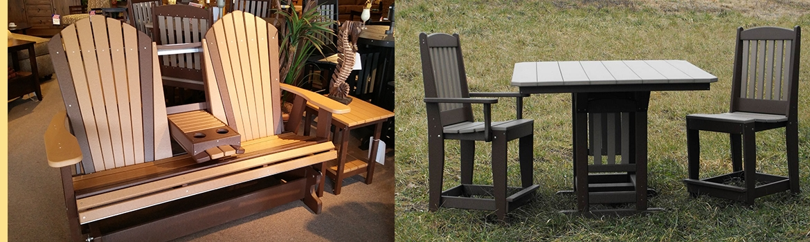 Incredible Amish Outdoor Furniture Rocking Chairs Amish Custom With Regard To Recent Patio Furniture Rocking Benches (Gallery 2 of 20)