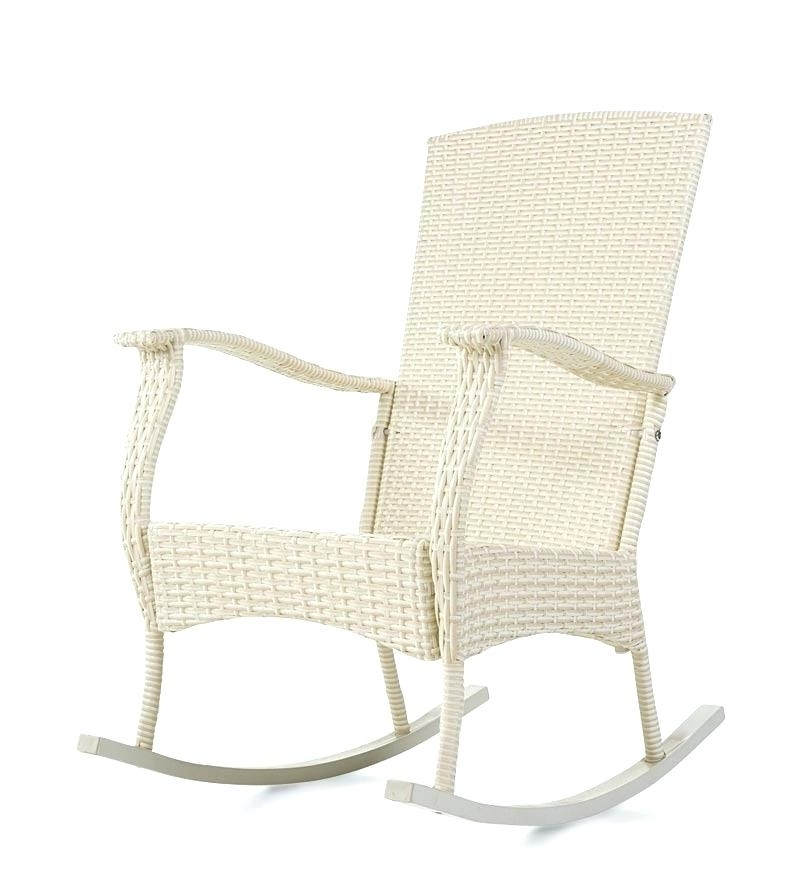 Indoor Wicker Rocking Chair Outdoor Wicker Rocking Chairs Tips Home Intended For Famous Indoor Wicker Rocking Chairs (Gallery 15 of 20)
