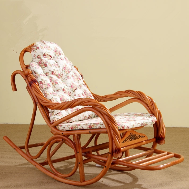 Indoor Wicker Rocking Chairs Intended For Most Popular Rocking Wicker Furniture Cushions Wonderful Wicker Furniture Indoor (Gallery 20 of 20)