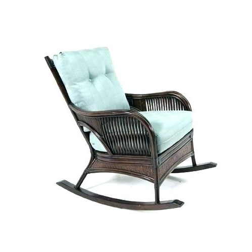 Indoor Wicker Rocking Chairs With Well Liked Indoor Wicker Rocking Chair – Choteauspice (View 13 of 20)