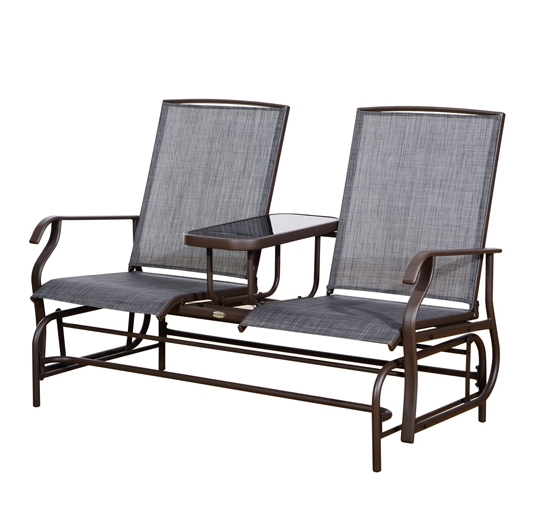 Interesting Outdoor Furniture Rocking Chairs And Northlight Outdoor Pertaining To Most Up To Date Patio Furniture Rocking Benches (View 8 of 20)