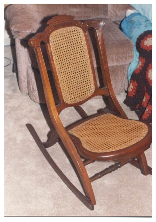 Invention Of First Folding Rocking Chair In U. S (View 8 of 20)