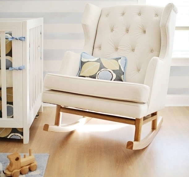 Ireland Rocking Chairs In Well Liked Baby Nursery: Top Baby Nursery Chairs Ideas Baby Boy Nursery (View 8 of 20)