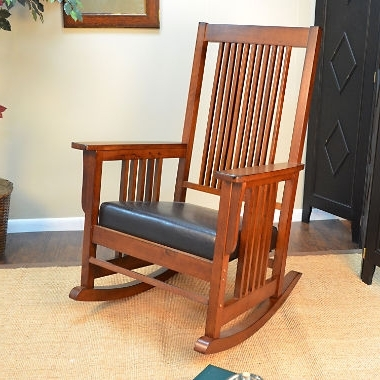 Jefferson Mission Style Rocker Sam S Club Brilliant Rocking Chairs In Most Recently Released Rocking Chairs At Sam\'s Club (View 2 of 20)